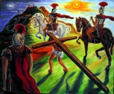 CHRIST CARRYING CROSS 1