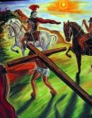 CHRIST CARRYING CROSS 5