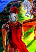 CHRIST CARRYING CROSS 6