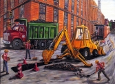 CONSTRUCTION ON ELIZABETH STREET