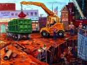 Construction on 73rd Street