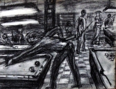 POOL HALL DRAWING