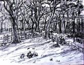 WASHINGTON SQUARE PARK CORNER