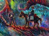 RIDER ENTERING MYSTIC VALLEY 2