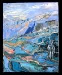 Figure on Frozen Mountain