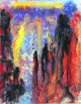 Spirit Beings At Sunset