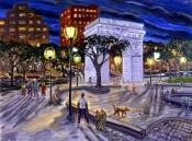 Washington Square Park With Dealer