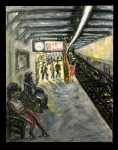 23rd Street Station With Girl