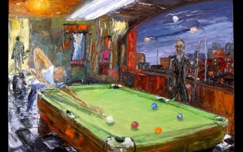 FINE ART Pool Paintings ARTHUR Revelation Art